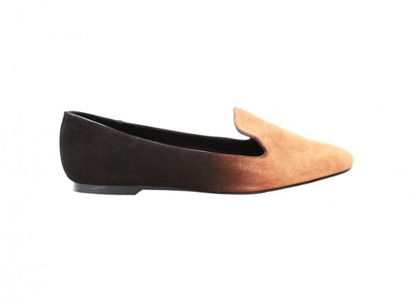 حذاء سهل اللبس بنى