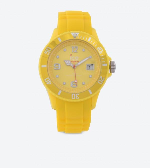 9b225cf4a أيس واتش ساعة يد بلون أصفر