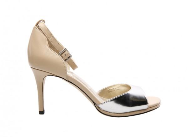 Ta-Gea Silver Mid Heel