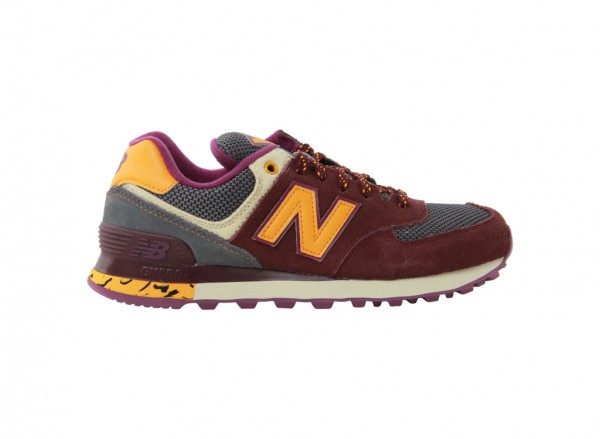 574 Purple Sneakers And Athletics-WL574TSX
